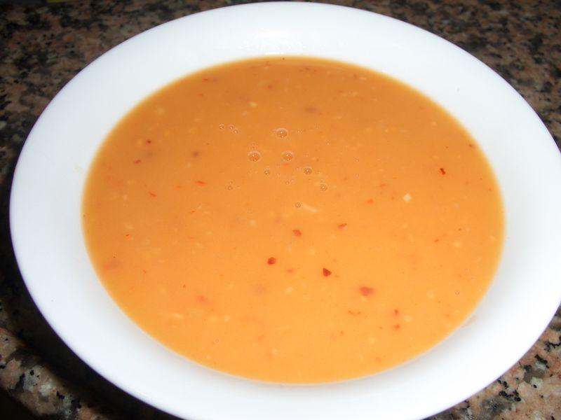 Tahana soup